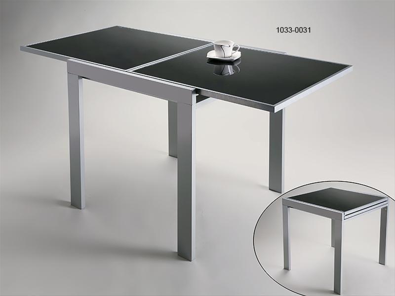Mesa extensible con cristales car interior design - Cristales para mesas redondas ...