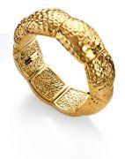 B1014P000-06 brazalete viceroy bijoux elástico dorado martilleado