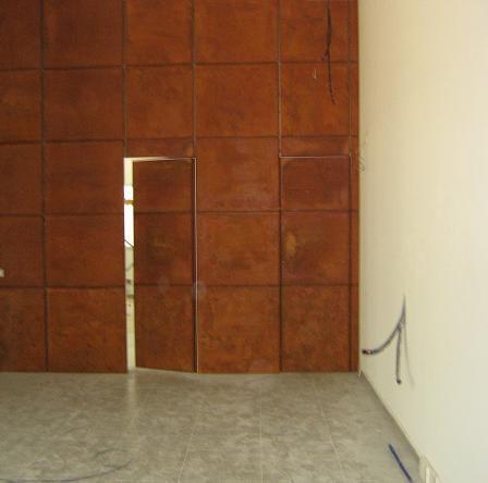 el acero tipo ucorten au o acero cortenu tiene un alto contenido de cobre cromo y nquel que consiguen que la capa de xido superficial que se forma en