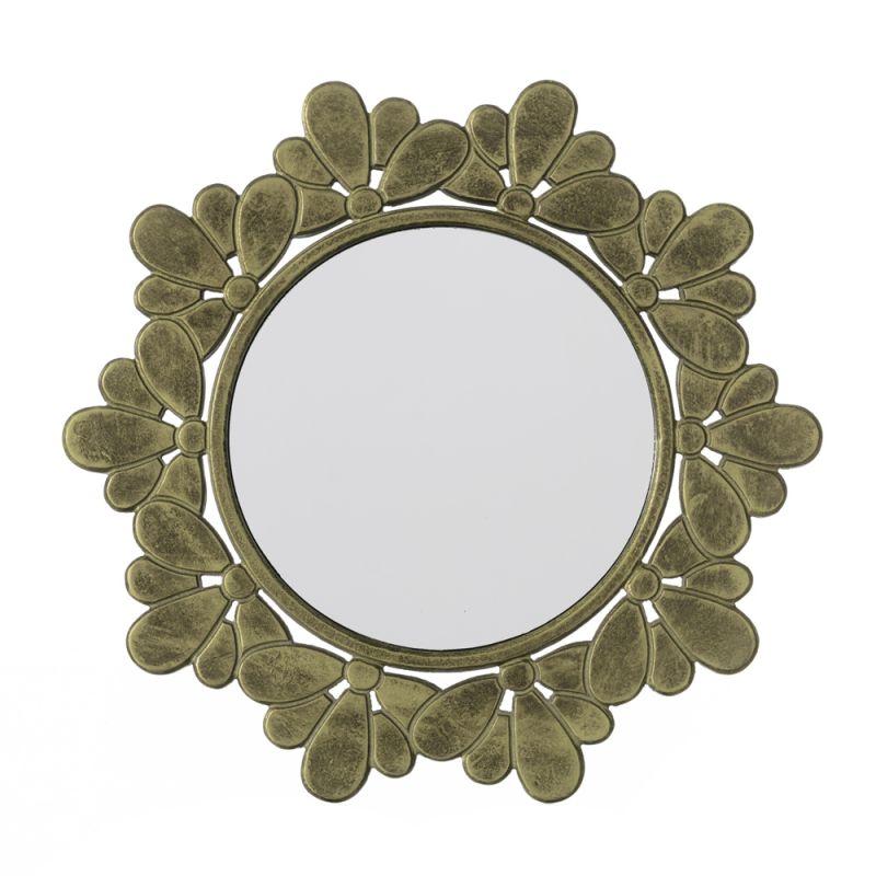 Espejo barato decorativo de madera circular espejos for Espejos grandes baratos