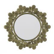 Espejo barato decorativo de madera circular