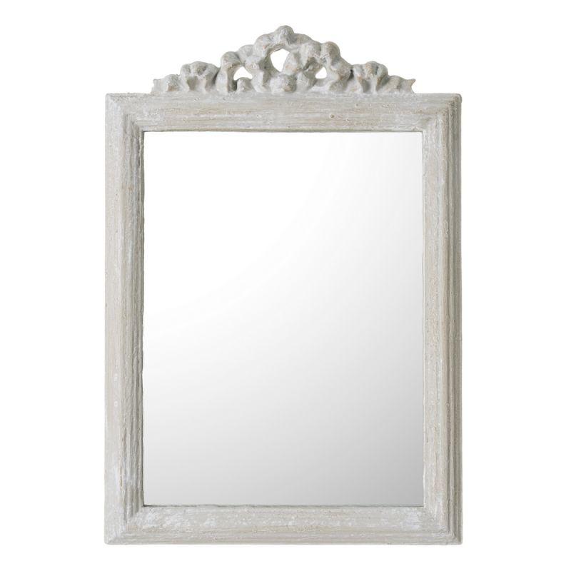 Espejo barato decorativo gris vintage espejos manteles for Espejos pequenos vintage