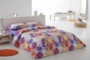 Juego funda Nórdica estampada flores modernas 3 ó 4 piezas - 39088