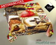 Mantel Antimanchas teflón estampado digital FRESH-2