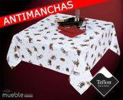 Mantel de Navidad antimanchas TRINEO-2