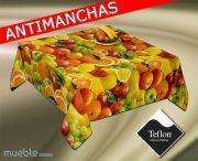 Mantel de cocina antimanchas FRUTAS-2