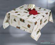 Mantel de Navidad Beig LAZO-b
