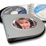 Porta cds metálico