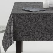 Mantel mesa jacquard Discret con servilletas