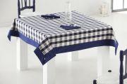 Mantel picnic con aplique y servilletas