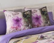 Cojin original estampado Vintage flores