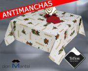 Mantel Navidad antimanchas LAZO-2b