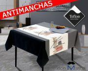 Mantel antimanchas moderno TICO-2