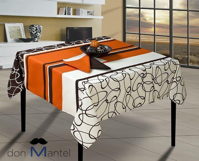 Mantel mesa moderno ovalo manteles de mesa modernos don mantel - Mantel para mesa exterior ...