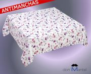 Mantel antimanchas estampado MARIPOSA 2