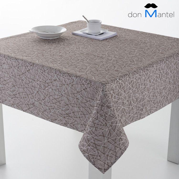 Mantel de mesa jacquard abstract manteles de mesa - Manteles de hule ...