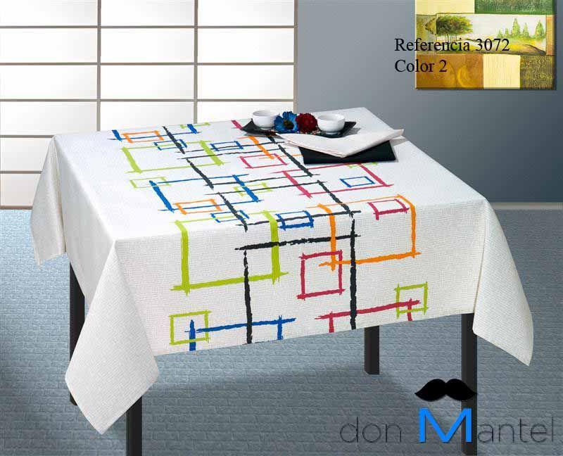 mantel mesa moderno perfil 2 manteles de mesa modernos