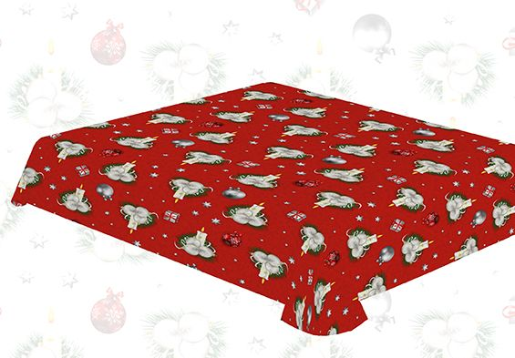 Mantel navidad velado manteles de navidad don mantel - Manteles de navidad ...